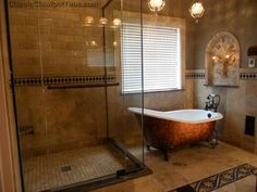 I want this bath set up but really rustic