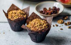Úžasné podzimní menu: Štrůdlové muffiny   Ahaprozeny.cz Pudding, Breakfast, Fit, Desserts, Morning Coffee, Tailgate Desserts, Deserts, Shape, Custard Pudding