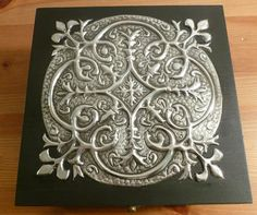 Hand Crafted Pewter Memory Box by PewterConcepts on Etsy