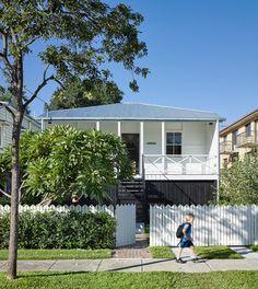 Front fence and balustrade. Brisbane Queenslander reference