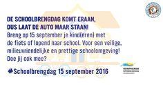 15 Sep -  Schoolbrengdag georganiseerd door de MRDH - http://www.wijkmariahoeve.nl/schoolbrengdag-georganiseerd-mrdh/