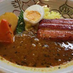 今日も首里でランチ #okinawa #curry #沖縄 #カレー
