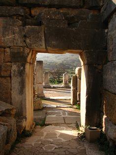 Dav Kumar doorway in Ephesus
