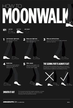 Moonwalk einfach und schnell lernen | DEBESTE.de, Lustige Bilder, Sprüche, Witze und Videos