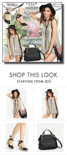 """""""//Romwe(summer style)set 9.//"""" by fahirade ❤ liked on Polyvore"""