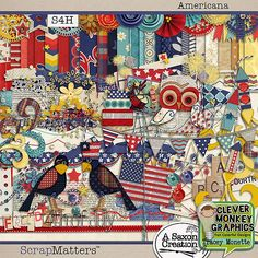 Clue #7 - Americana by Clever Monkey Graphics & Saxon Holt