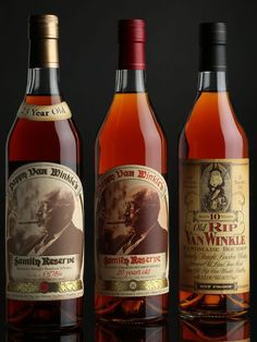 Pappy Van Winkle 15, 20, or 23 year old bourbon. $90-$300 if you are lucky.