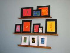 yard stick shelves