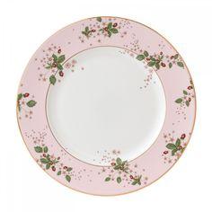 Wild Strawberry Pink Plate 27cm Wedgwood