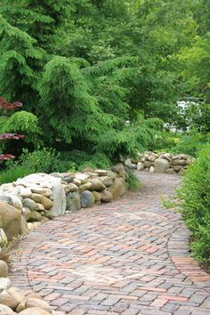 More amazing path and stone work.