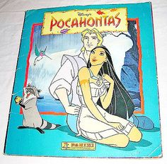 POCAHONTAS-1995-Walt-Disney-Panini-italy-album-figurine-sticker-book Pocahontas, Walt Disney, Sticker Books, Comic Books, Album, Stickers, Comics, Italy, Italia