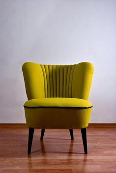 Wingback Chair, Armchair, Cocktail Chair, Mid Century Modern Furniture, Mid-century Modern, Accent Chairs, Restoration, Upholstery, Living Room