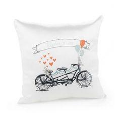 Tandem Bike Pillow Graduation Party Favors, Gifts For Wedding Party, Wedding Favors, Our Wedding, Wedding Rings, Party Gifts, Ring Bearer Pillows, Ring Pillows, Bed Pillows