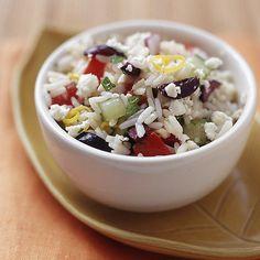 Greek Rice Salad | Weight Watchers