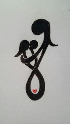 Futuro tatoo el cual representa el amor que siento por mis niños