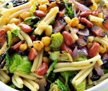 Brussels and Beans Salad