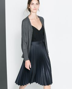 JACKET WITH POCKETS AND ZIP - Woman - New this week | ZARA Canada