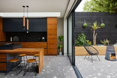 Tile trends 2021 – from Art Deco to new heritage and terrazzo | Homes & Gardens Outdoor Tiles, Outdoor Stone, Outdoor Decor, Exterior Tiles, Exterior Paint, Terrazo, Terrazzo Tile, Art Deco Movement, Traditional Interior