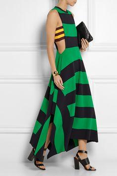Stella McCartney - Striped jersey maxi dress