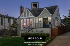JUST SOLD for $2,891,500! Thankful to close escrow today on this beautiful home in the much sought-after Easton Addition neighborhood of Burlingame. Congratulations to my lovely buyers on landing this timeless and classic Tudor home, for under the list price! This home now belongs to one of the nicest and most deserving families I have ever had the pleasure to work with. This is their dream location and after some renovation work, they will also have their dream home. Goodbye SF condo! Tudor House, Landing, Beautiful Homes, Condo, The Neighbourhood, Families, Congratulations, Thankful, Real Estate