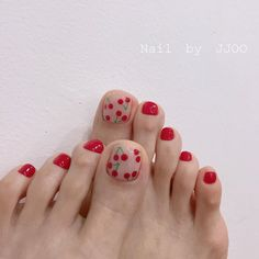 Toe Naildesigns Archives - Us Naildesign Funky Nail Art, Funky Nails, Pretty Toe Nails, Gorgeous Nails, Simple Acrylic Nails, Simple Nails, Best Nail Art Designs, Toe Nail Designs, Mickey Mouse Nail Art