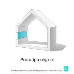 Low Carbon Architecture te asesora para conseguir 20% menos de CO2 en cada prototipo de vivienda.