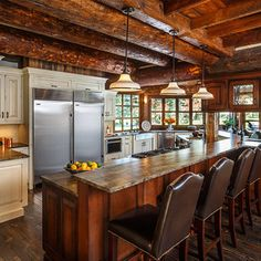 Such a #cozy #rustic #kitchen