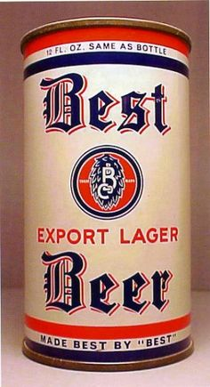Best Beer Export Lager , Chicago -1939