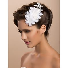 Gorgeous Lace Satin Wedding Bridal Corsage/ Headpiece – GBP £ 3.29