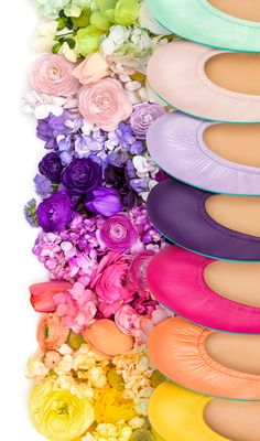 Brighten up your wardrobe with our spring picks! | Tieks Ballet Flats