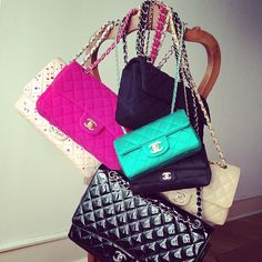Classic Chanel Purses, post by visualvixen.