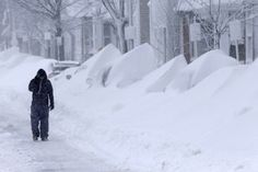 This Is What It Looks Like in Boston blizzard 2013