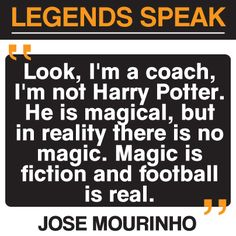Jose Mourinho #football quote