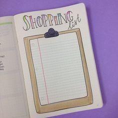 How I've set up my 3rd Bullet Journal