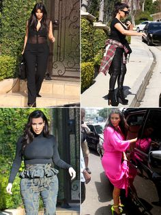 Kim Kardashian's maternity style has been an interesting journey...