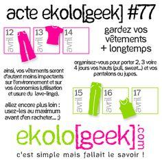 Ekolo[geek] – C'est simple mais fallait le savoir ! » Blog Archive » Acte ekolo[geek] #77