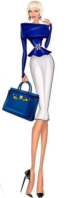 Anna Shershen Fashion Illustration