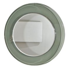 Fontana Arte round mirror | From a unique collection of antique and modern wall mirrors at http://www.1stdibs.com/furniture/mirrors/wall-mirrors/