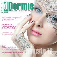 """Número 12  """"Maquillaje terapéutico y autoestima"""" Entrevistas a Guillermina Baeza y a la Doctora Marie Béjot."""