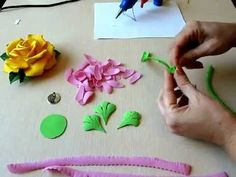 How to make Flowers Gerbera Foam Sheet. How to make Foam Flower, DIY, Tutorial Foam. How to makeFlowers Gerbera Foam Sheet. How to make Foam Flower, DIY, Tutorial Foam These hand made gerbera are perfect for any occasion in Foam Sheet Crafts, Foam Crafts, Paper Crafts, Diy Crafts, Handmade Flowers, Diy Flowers, Flower Diy, How To Make Foam, Flower Tutorial