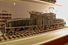 スイス国鉄Ce 6/8電気機関車(原鉄道模型博物館)
