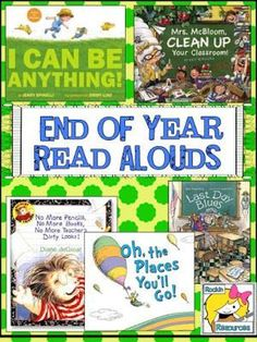 5 Last Minute Activities to End the Year- End of Year Read Alouds.