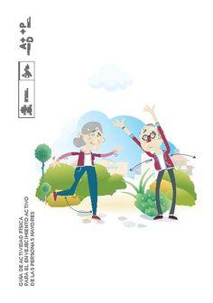 Acceso gratuito. Guía de actividad física para el envejecimiento activo de las personas mayores Fictional Characters, Physical Therapy, Ageing, Sports, Libros, Fantasy Characters