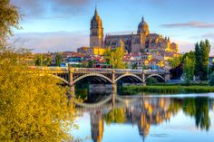 Salamanca is a medium sized city with a metropolitan area population of about 230,000, making it the second most populated city (after Valladolid) in its autonomous community of Castile and Leon. #Spain #Spanish #Salamanca #visitSpain  http://www.donquijote.org/culture/spain/places/cities/history-of-salamanca