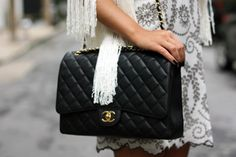 Chanel Jumbo Flap. Black Caviar GHW. My favorite item in my closet.