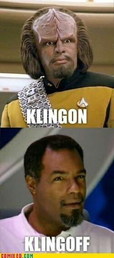 Kling-ON, Kling-Off... The Kling!