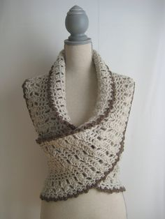 Crochet Scarf  Crochet Neckwarmer Crochet by GloriasHandCreations, $45.00