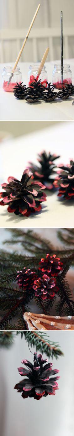 Koristekävyt. lasten | askartelu | joulu | joulukoristeet | käsityöt | koti | DIY ideas | kid crafts | christmas | home | decor | ornaments | Pikku Kakkonen