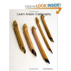 Learn Arabic calligraphy: Naskh, Riqa, Farsi, Thoulth, and Diwanny (English and Arabic Edition)