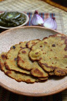 makki di roti, how to make punjabi makki di roti   step by step recipe